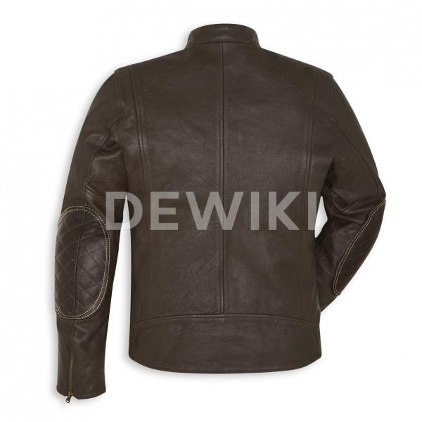 Мужская кожаная куртка Sebring Ducati Scrambler
