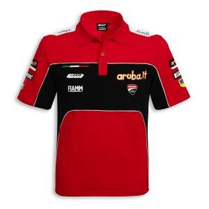 Рубашка-поло с коротким рукавом Ducati Corse SBK Team Replica 19