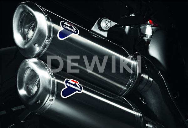 Титановый глушитель Termignoni Ducati Streetfighter 848 / 1098 / 1198