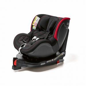 Детское автокресло Audi  Dualfix I-SIZE, black/red