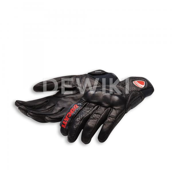 Мотоперчатки Ducati Held Logo C1, Black