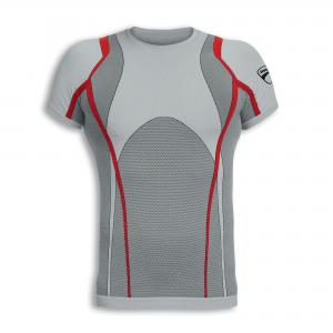 Бесшовная футболка с короткими рукавами Ducati Cool Down