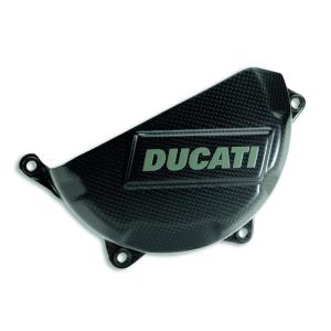 Карбоновая защита картера сцепления Ducati 899 / 1199 / 1299 / Panigale V2