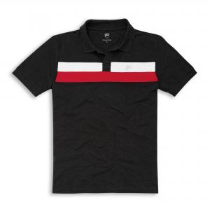 Рубашка-поло с коротким рукавом D-Stripes, для мужчин