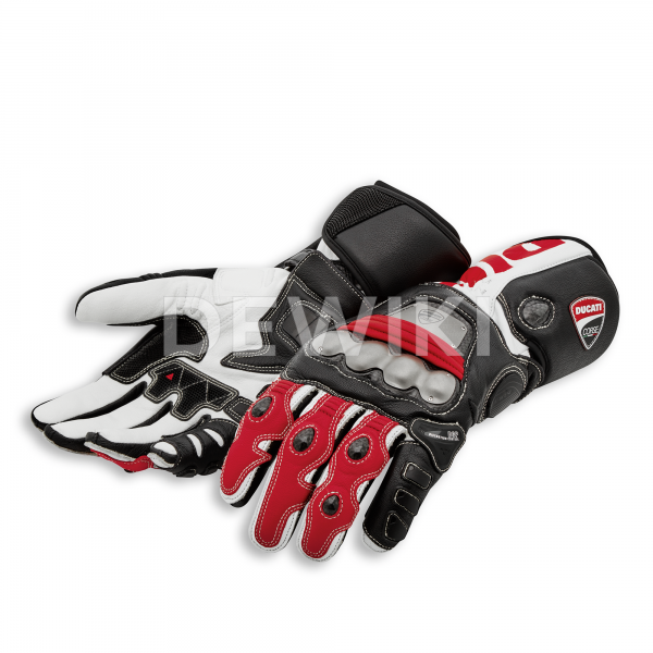 Мотоперчатки Ducati Corse C5, Black/Red