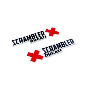 Набор логотипов Ducati Scrambler Urban Enduro
