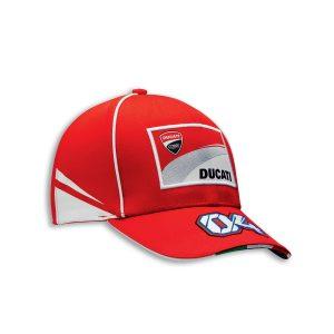 Бейсболка Ducati Corse D04, Red