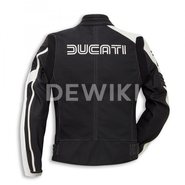 Женская кожаная мотокуртка Ducati 77 Historical