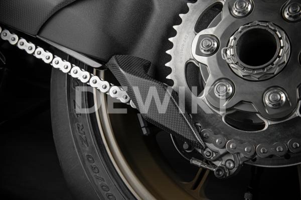 Карбоновая защита цепи Ducati Panigale V4 / Streetfighter V4