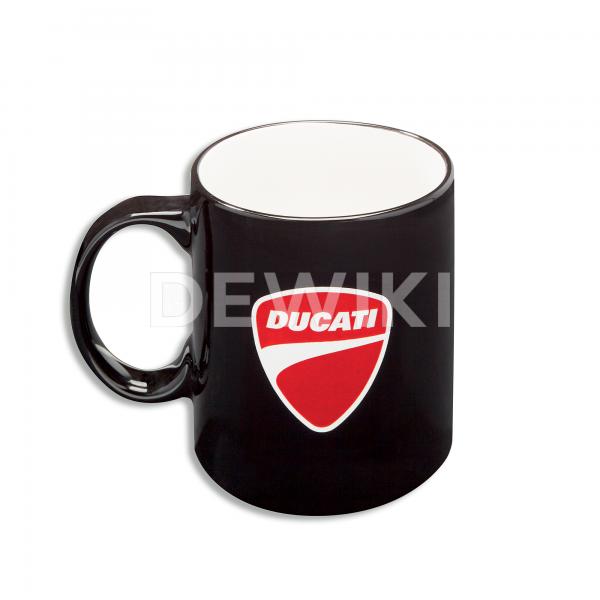 Кружка Ducati с логотипом