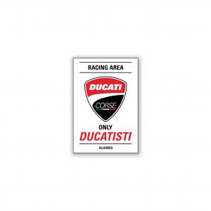 Магнит Ducati Corse Racing area