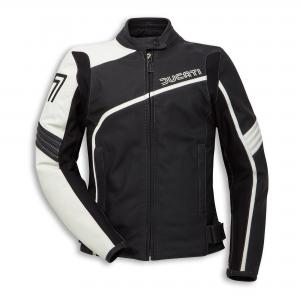 Историческая кожаная куртка Ducati 77 Woman