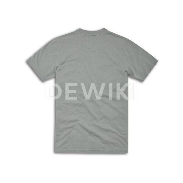 Мужская футболка Scrambler Pocket, Grey
