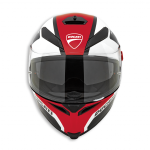 Мотошлем Ducati Peak V5, Black/White/Red