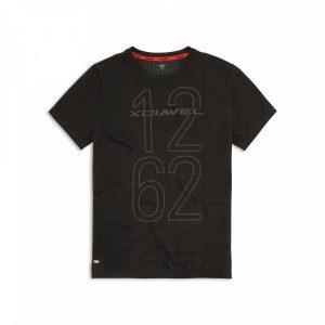 Мужская футболка Ducati 1262, Black