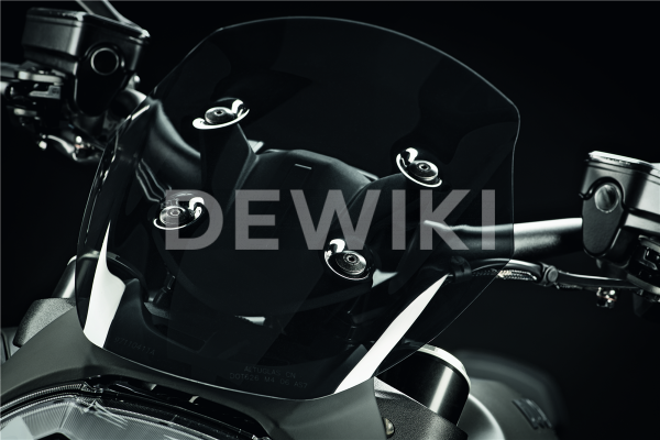 Тонирование спортивное ветровое стекло Ducati Diavel 1260 / 1260 S
