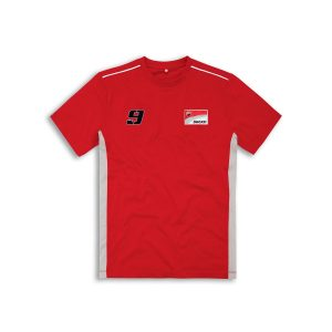 Мужская Футболка Ducati Corse D09, Red