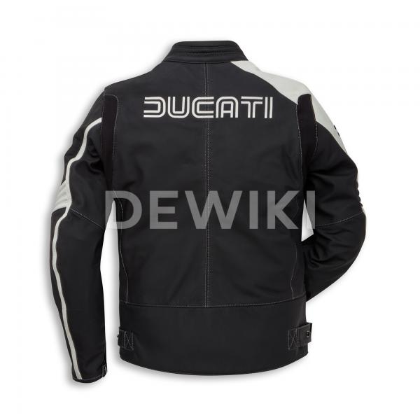 Мужская кожаная мотокуртка Historical 77 Ducati