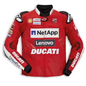 Кожаная куртка Реплика Ducati Team 19, для мужчин