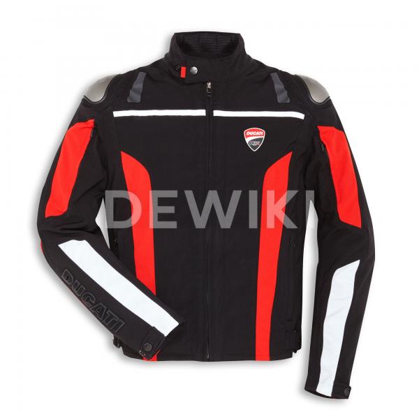 Мужская текстильная мотокуртка Ducati Corse tex C4