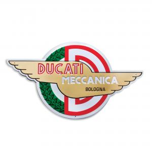 Металлический знак Ducati механика