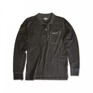 Рубашка-поло с длинными рукавами Metropolitan Ducati
