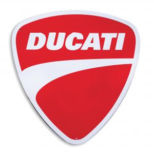 Металлический знак Ducati