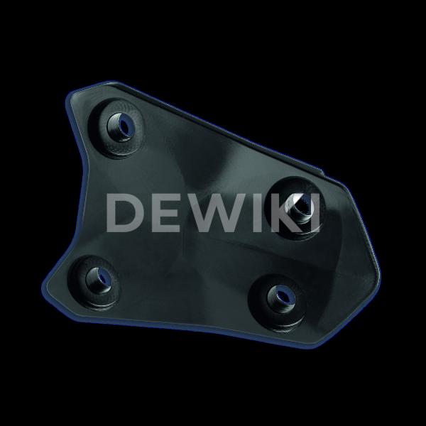 Пластиковая заглушка крепления номерного знака Ducati Monster / Supersport