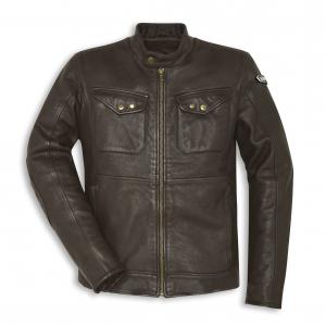Мужская кожаная куртка Sebring Scrambler