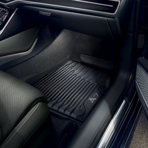 Резиновые передние коврики Audi A7 (4K)