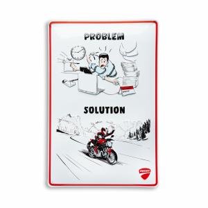 Металлическая пластина Ducati