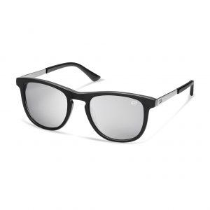 Солнцезащитные очки Audi e-tron, черные/ серебряное зеркало