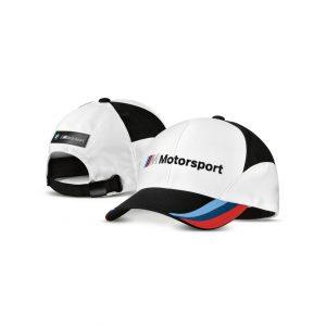 Бейсболка BMW Motorsport, White/Black