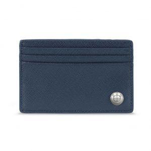 Кожаный футляр для кредитных карт BMW, Blue