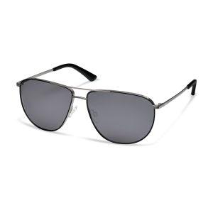 Солнцезащитные очки Audi, gun metal