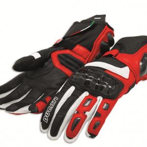Мотоперчатки Ducati Performance C2, Black/Red