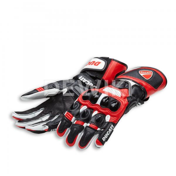 Мотоперчатки Ducati Speed Evo C1, Black/White