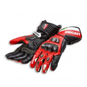 Мотоперчатки Ducati Corse С3, Black/Red
