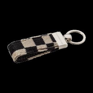 Текстильный брелок для ключей Porsche, черный