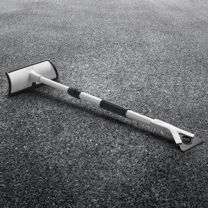 Скребок для льда с телескопической стрелой