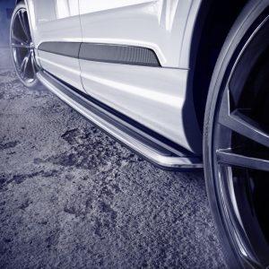 Накладки на двери Audi Q7, комплект