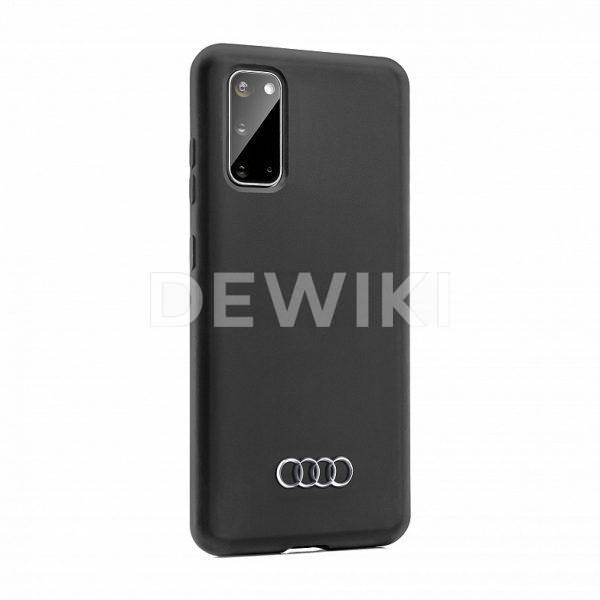 Чехол Audi для Samsung S20, черный