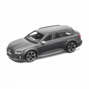 Модель в миниатюре Audi RS 6 Avant, Daytona Grey, масштаб 1:43