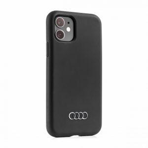 Чехол Audi для iPhone 11, черный