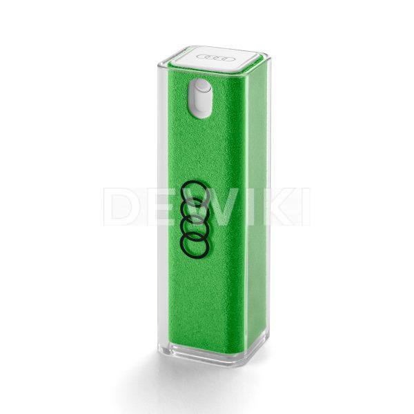 Очиститель дисплея Audi, 2 в 1, зеленый