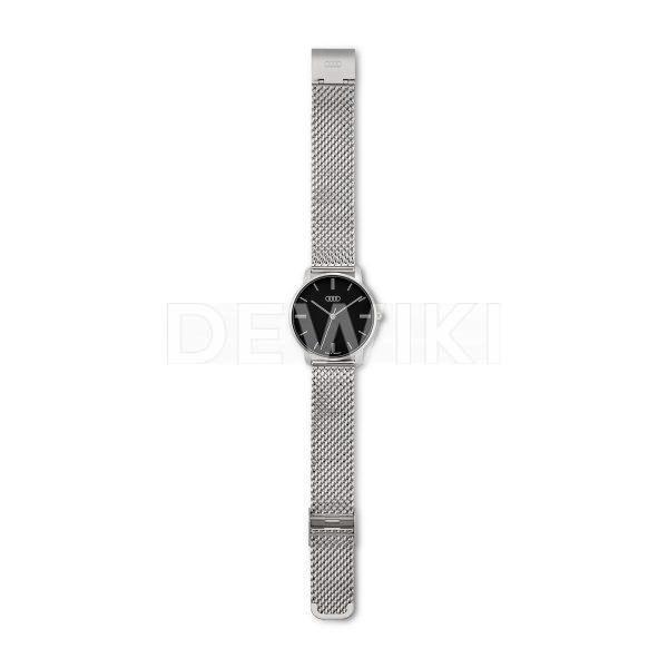 Женские часы Audi, серебристый / черный