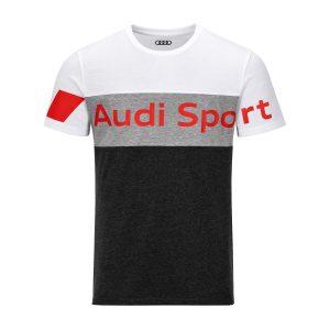 Футболка мужская Audi Sport, серая