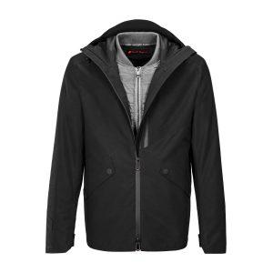Мужская куртка Audi Sport 2 в 1, черная