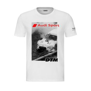 Мужская футболка Audi Sport DTM, белая