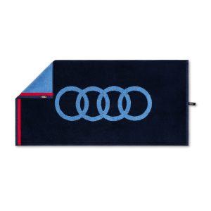 Полотенце Audi, темно-синее, 50x100см